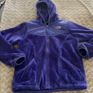 Girls size large north face fleece
